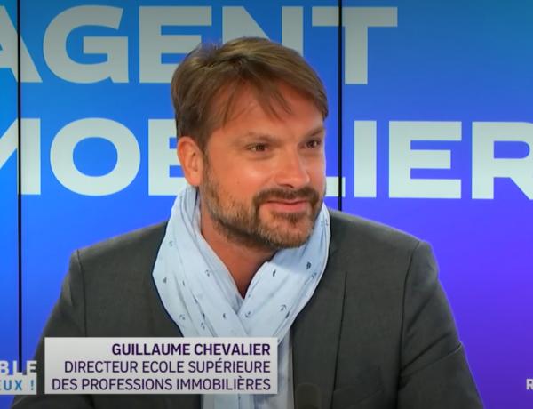 LYON | Intervention de Guillaume CHEVALIER, Directeur du Campus, sur France 3 Auvergne Rhône-Alpes