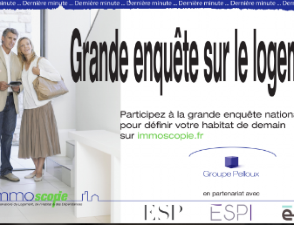 Participez à la grande enquête sur le logement avec le Groupe ESPI !