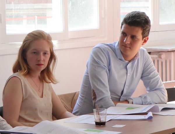 Rencontre avec Camille G. et Mathieu V., Espiens et membres du jury Étudiants des GSA