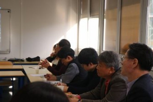 PARIS – Visit from a South Korean delegation and discussions on 'Public-Private partnerships in the construction of housing in France'