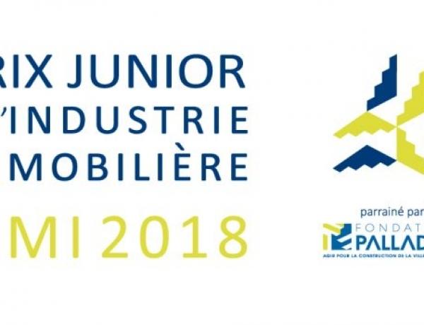 PARIS – Concours du «Prix Junior de l'Industrie Immobilière»