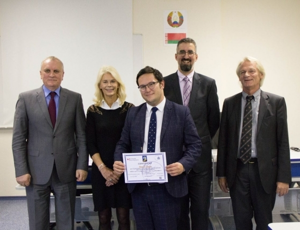 LYON | Intervention de Benoît LOPEZ lors du colloque international organisé par les Universités de Nanterre, Potsdam et Minsk