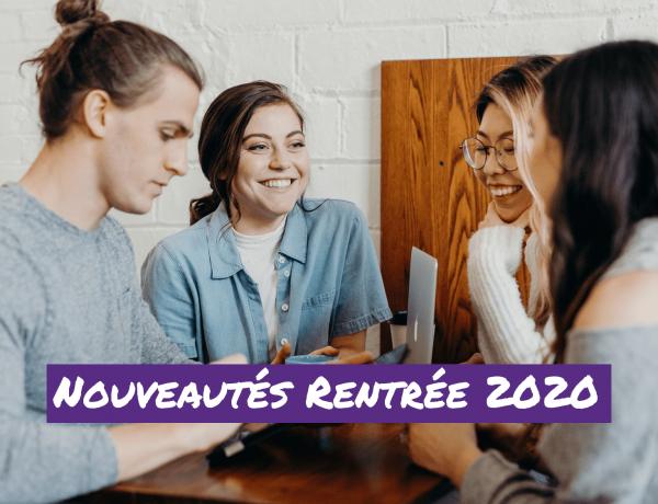 GROUPE | Quelles nouveautés pour la rentrée 2020 ?