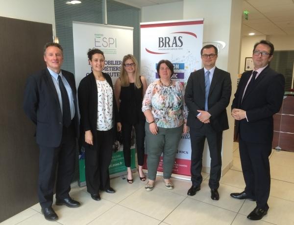 Partenariat entre le Cabinet Bras Immobilier et le Groupe ESPI