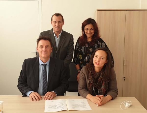 GROUPE | Signature d'un partenariat avec l'Ecole des Ingénieurs de la Ville de Paris (EIVP)