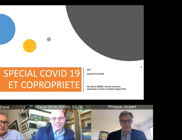 GROUPE   Accédez au replay de notre Webinaire «Covid-19 et copropriété»