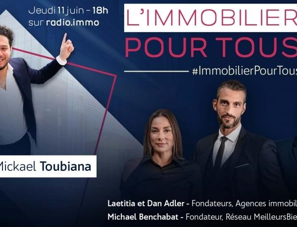 PARIS | «L'immobilier pour tous», l'émission de Spot Immo, débarque sur Radio Immo